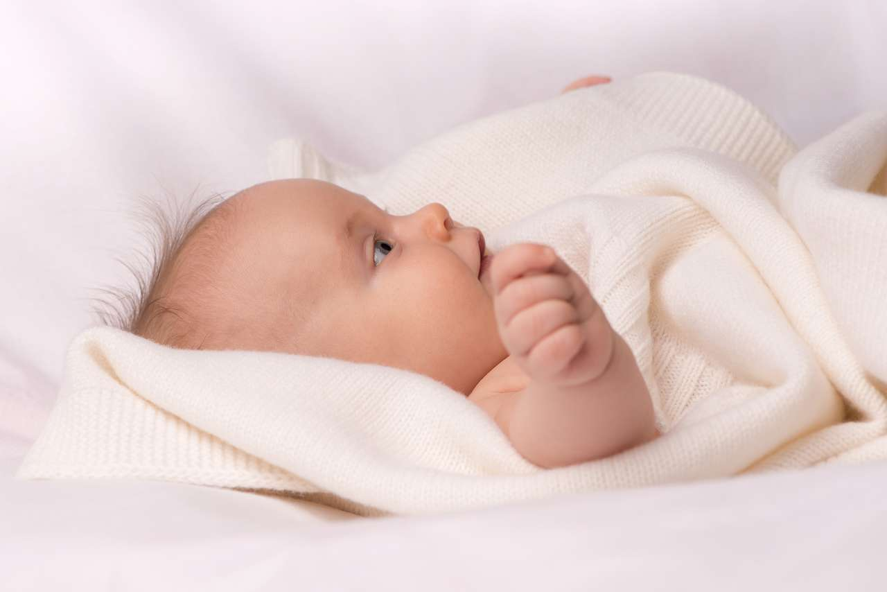 bio babydecke mit namen h chste gots bio qualit t. Black Bedroom Furniture Sets. Home Design Ideas