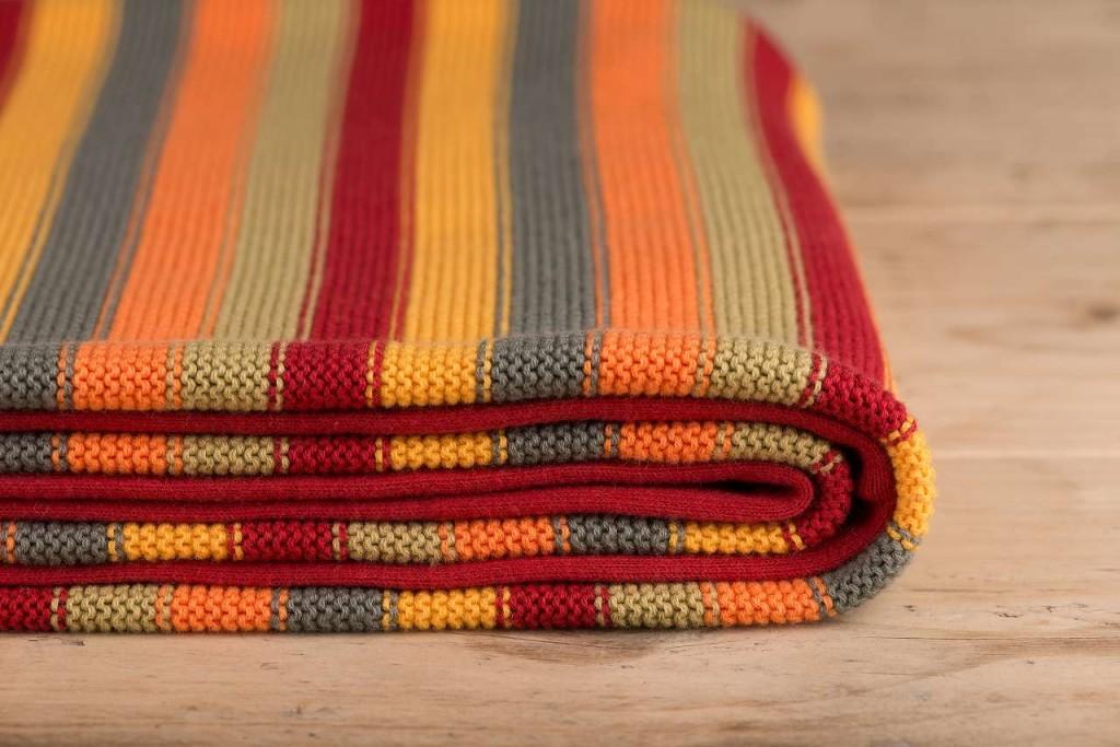 Decke für Babys und Kinder in Regenbogenfarben zertifiziert aus 100/% Baumwolle