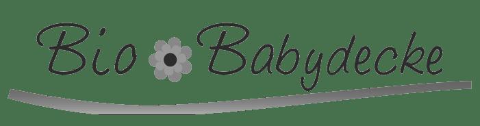 Bio Babydecke